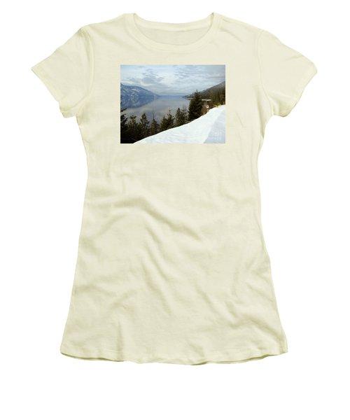 Kootenay Paradise Women's T-Shirt (Junior Cut) by Leone Lund