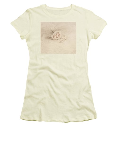 Lace And Promises Women's T-Shirt (Athletic Fit)