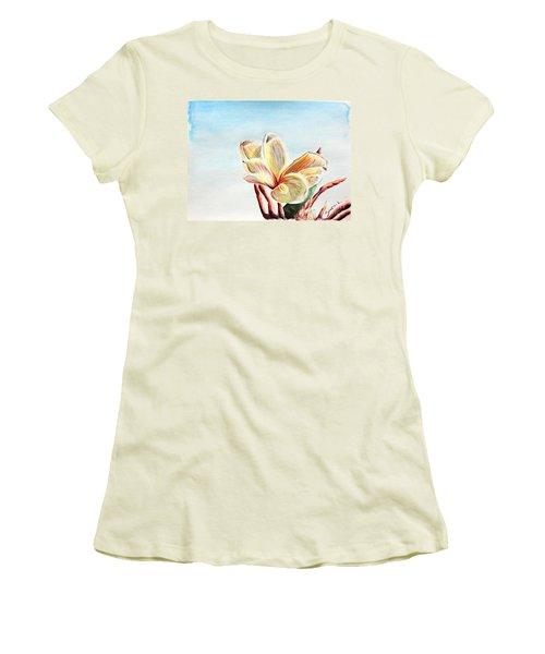 Laguna Flower Women's T-Shirt (Athletic Fit)