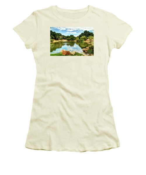 Lake Lucky Women's T-Shirt (Athletic Fit)