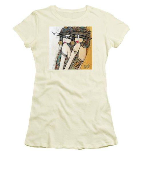 Les Demoiselles Women's T-Shirt (Athletic Fit)