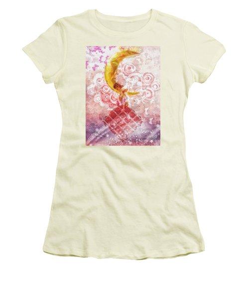 Little Princess Women's T-Shirt (Junior Cut) by Mo T