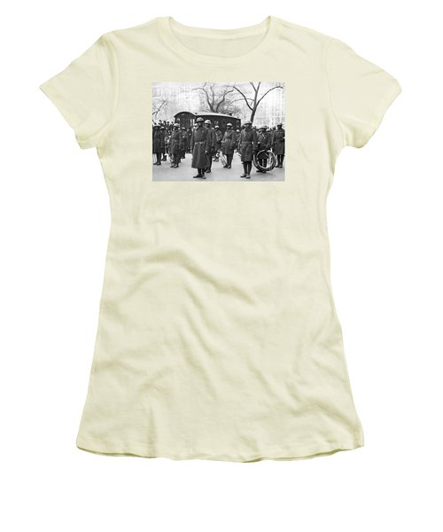 Lt. James Reese Europe's Band Women's T-Shirt (Junior Cut) by Underwood Archives
