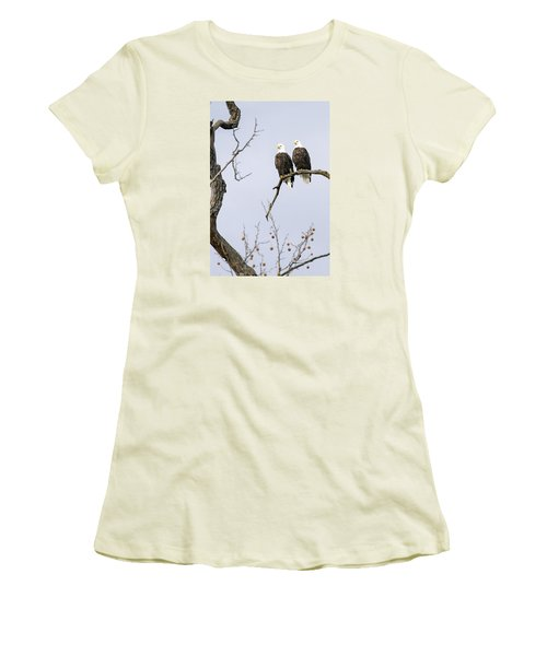 Women's T-Shirt (Junior Cut) featuring the photograph Majestic Beauty 1 by David Lester