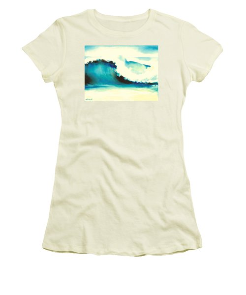 Makena Maui Women's T-Shirt (Athletic Fit)