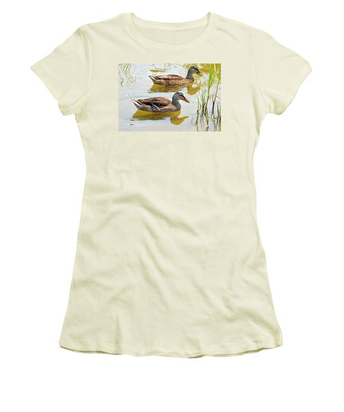 Mallards Women's T-Shirt (Athletic Fit)