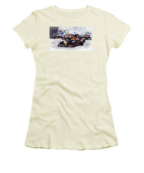 Mark Webber Women's T-Shirt (Athletic Fit)