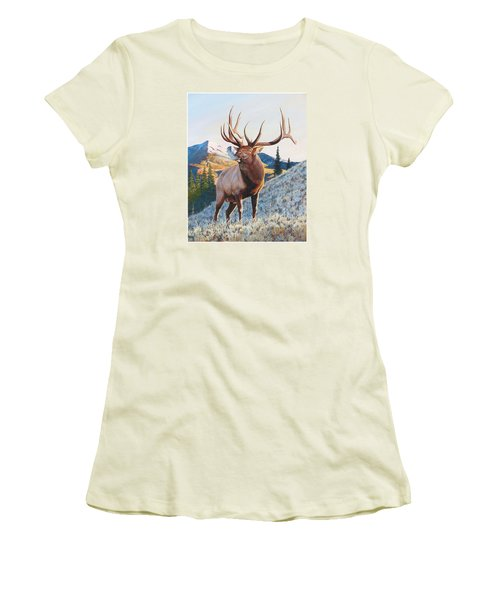 Mary's River Morning Women's T-Shirt (Athletic Fit)