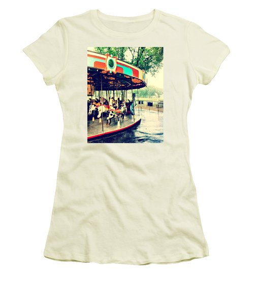 Memories Women's T-Shirt (Athletic Fit)