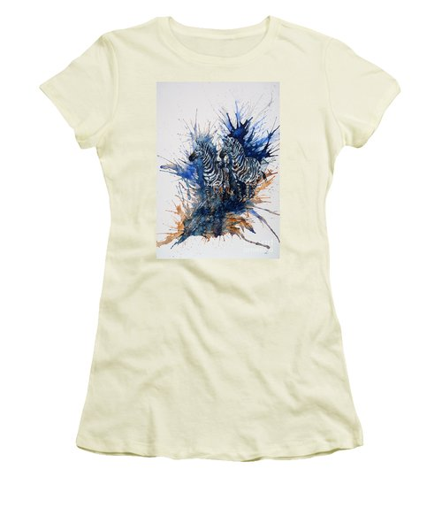 Merging With Shadows Women's T-Shirt (Junior Cut) by Zaira Dzhaubaeva