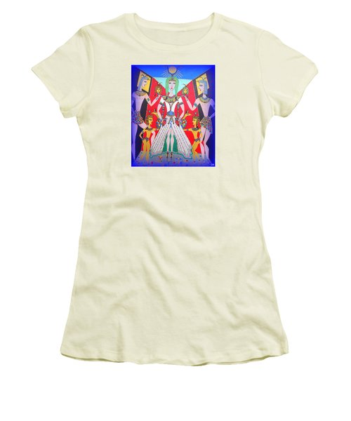 Metamorphosis Of Melisa Into Nefertiti Women's T-Shirt (Athletic Fit)
