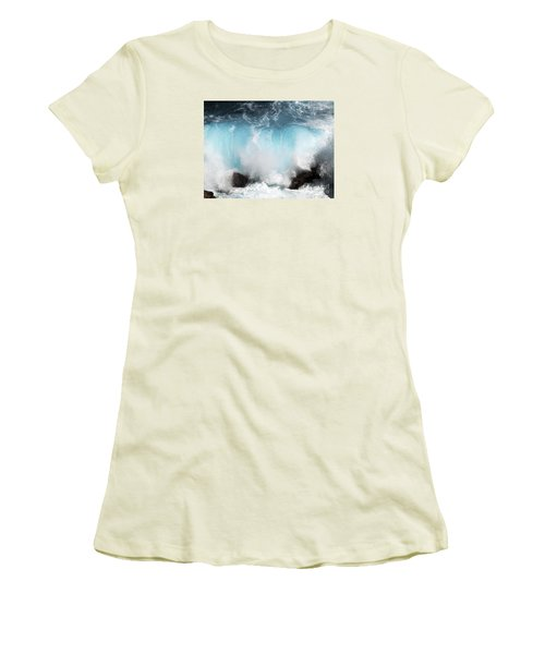 Might And Power Women's T-Shirt (Junior Cut) by Patricia Griffin Brett