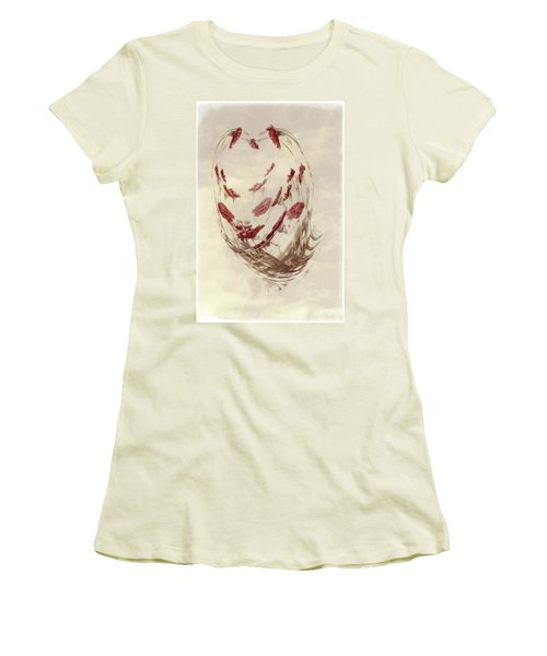 Mini Mum Art Bouquet Women's T-Shirt (Athletic Fit)