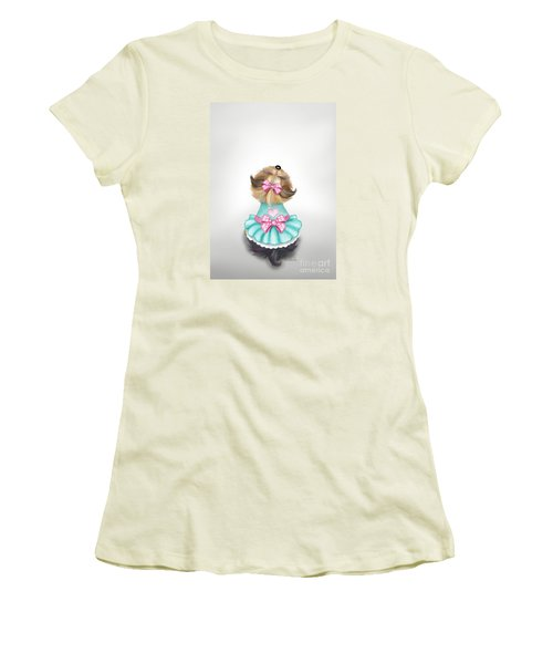 Miss Pretty Women's T-Shirt (Junior Cut) by Catia Cho