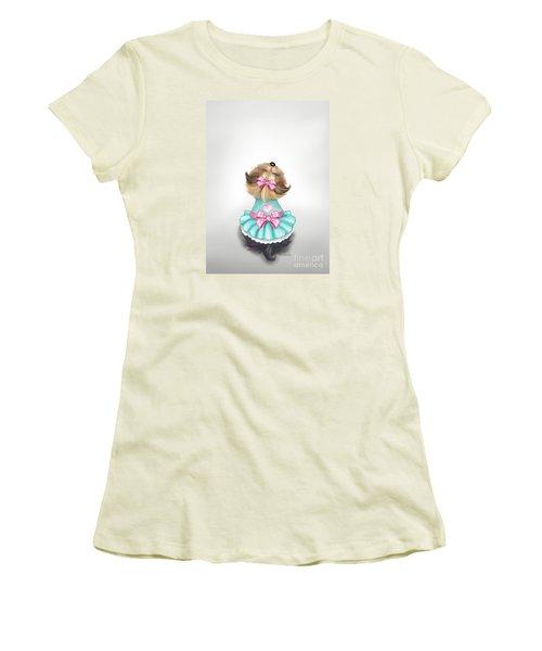 Miss Pretty Women's T-Shirt (Athletic Fit)