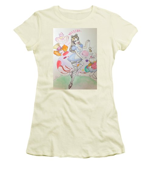 Misty Kay In Wonderland Women's T-Shirt (Athletic Fit)