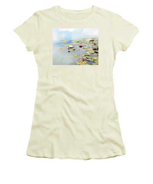 Monet's Garden Women's T-Shirt (Athletic Fit)