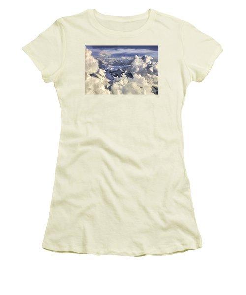 Mont Blanc Women's T-Shirt (Athletic Fit)