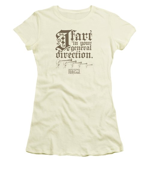 Monty Python - I Fart Women's T-Shirt (Junior Cut)