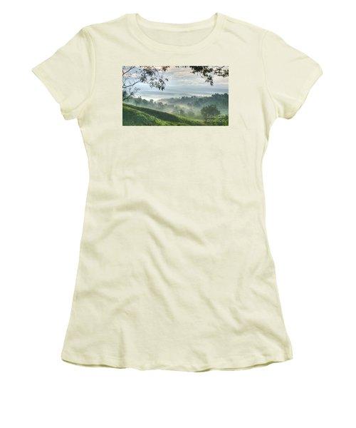 Morning Mist Women's T-Shirt (Athletic Fit)