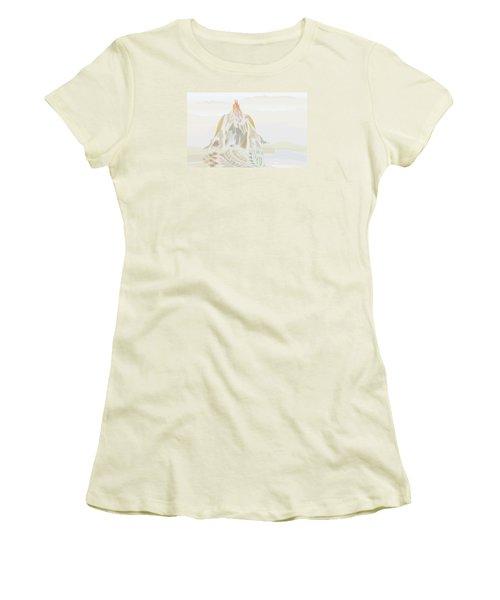 Mount Helm Women's T-Shirt (Junior Cut) by Kevin McLaughlin