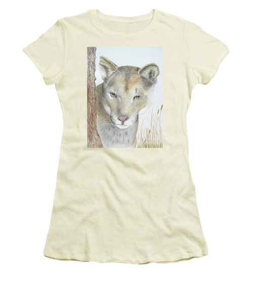 Mountain Hunter Women's T-Shirt (Athletic Fit)
