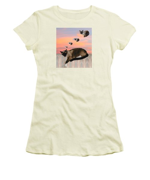 My Favorite Dream - Mouse Hunt Women's T-Shirt (Athletic Fit)