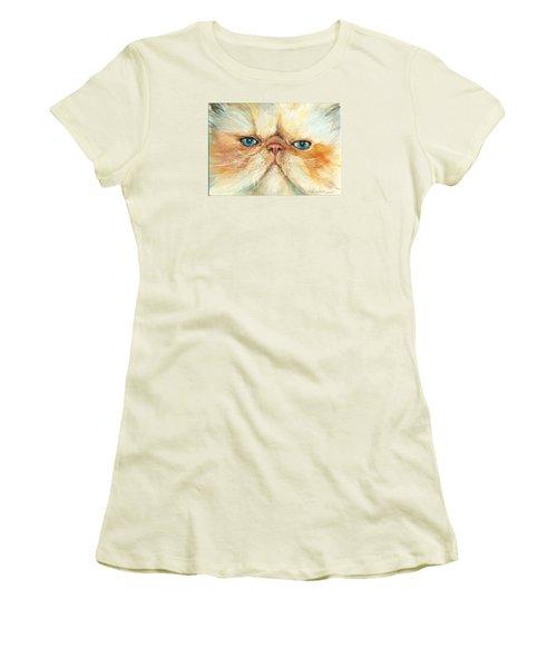 My Happy Face Women's T-Shirt (Junior Cut) by Donna Tucker