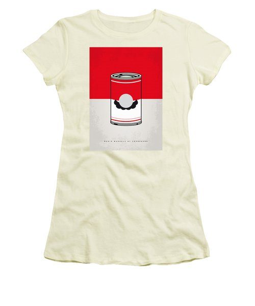 My Mario Warhols Minimal Can Poster-mario Women's T-Shirt (Athletic Fit)