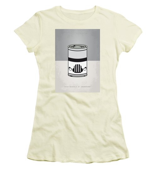 My Star Warhols Stormtrooper Minimal Can Poster Women's T-Shirt (Athletic Fit)