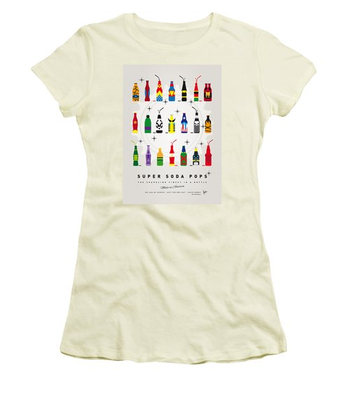 My Super Soda Pops No-00 Women's T-Shirt (Junior Cut) by Chungkong Art