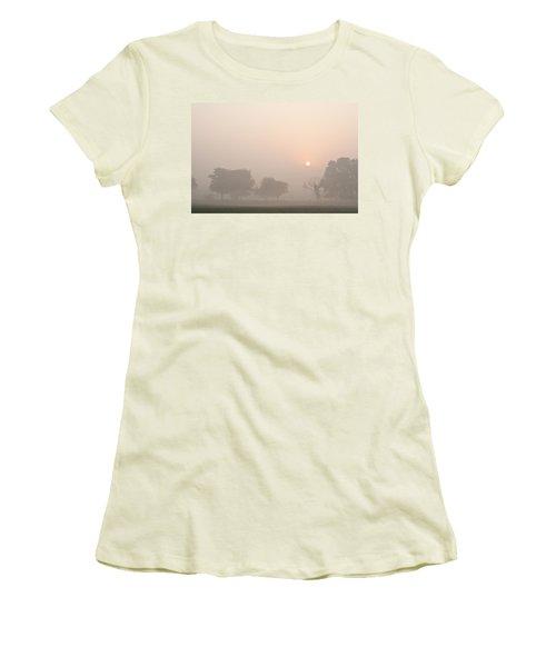 Mystic Landscape Women's T-Shirt (Junior Cut) by Lana Enderle