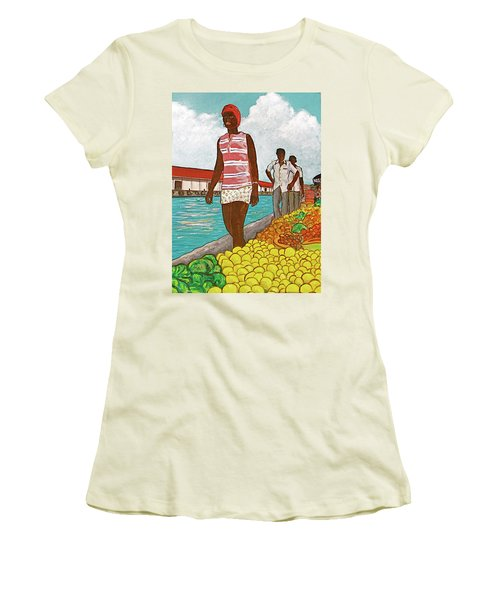 Nassau Woman Women's T-Shirt (Junior Cut) by Frank Hunter