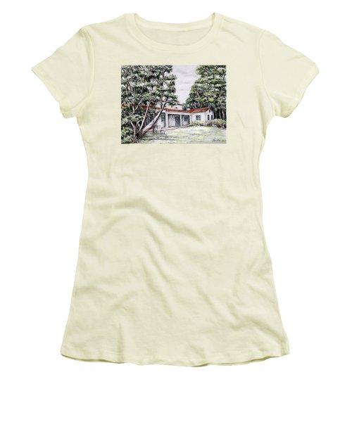 Nature And Architecture Women's T-Shirt (Junior Cut) by Danuta Bennett