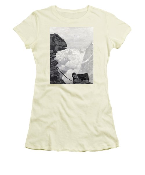 Nearly There Women's T-Shirt (Junior Cut)
