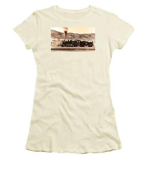 Nevada Northern Railway Women's T-Shirt (Athletic Fit)