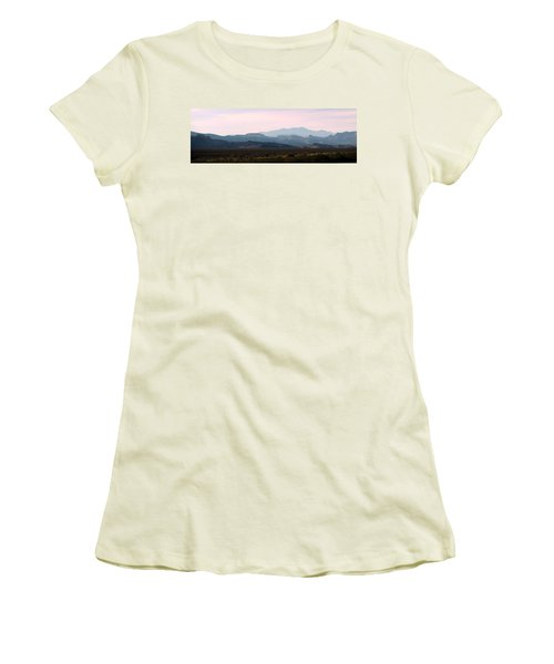 Nevada Sunset Women's T-Shirt (Athletic Fit)