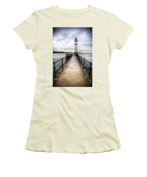 Newhaven Lighthouse Women's T-Shirt (Athletic Fit)