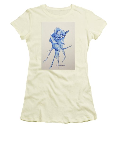 Niki's Rose Women's T-Shirt (Athletic Fit)