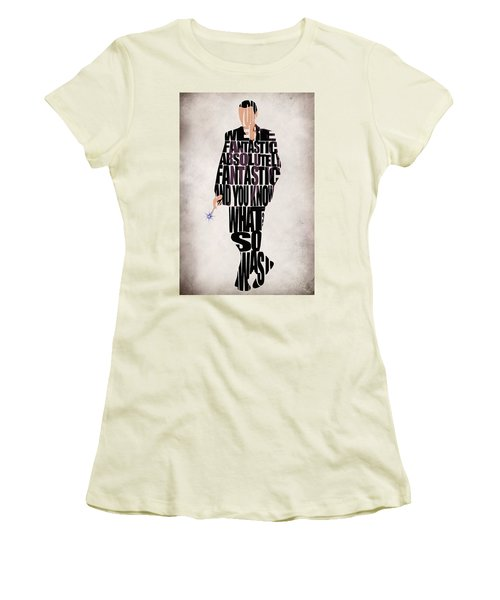 Ninth Doctor - Doctor Who Women's T-Shirt (Athletic Fit)