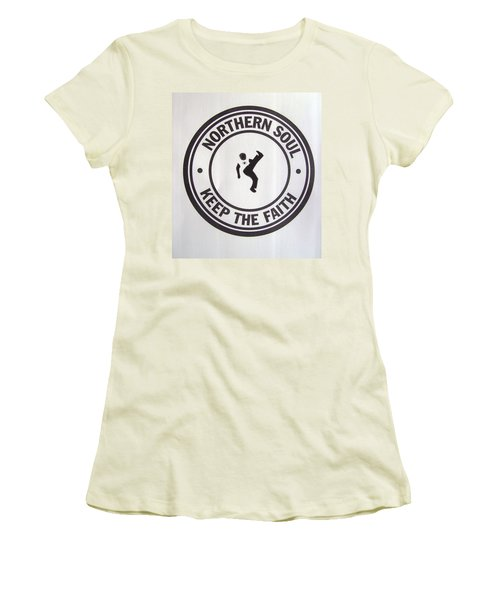 Northern Soul Dancer Women's T-Shirt (Athletic Fit)