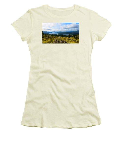 Norwegian Landscape 3 Women's T-Shirt (Athletic Fit)