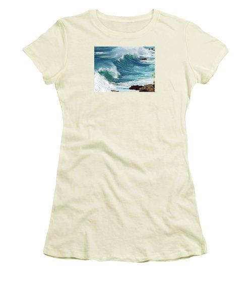Ocean Majesty Women's T-Shirt (Junior Cut) by Patricia Griffin Brett