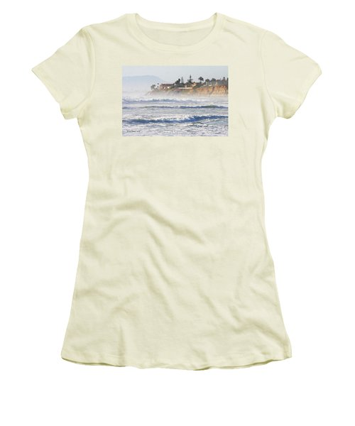 Women's T-Shirt (Junior Cut) featuring the photograph Oceanside California by Tom Janca