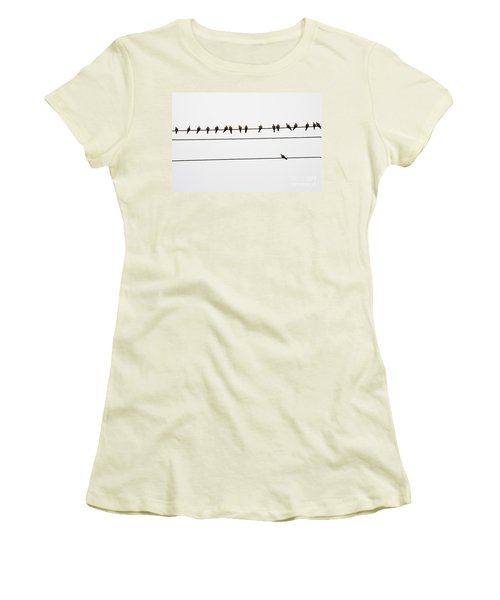 Odd Man Out Women's T-Shirt (Athletic Fit)