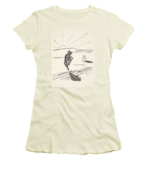 Old Man Kangaroo Women's T-Shirt (Junior Cut)