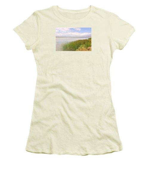On Shore Women's T-Shirt (Junior Cut) by Marilyn Diaz