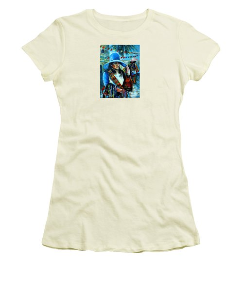 On The Streets Of Bucerias. Part Two Women's T-Shirt (Junior Cut)