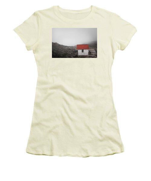 Women's T-Shirt (Junior Cut) featuring the photograph One Room In A Fog by Ellen Cotton
