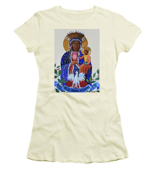 Our Lady Of Czestochowa Women's T-Shirt (Athletic Fit)